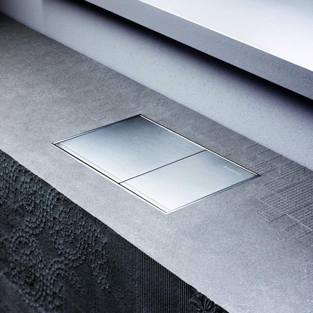geberit omega60 dual flush plate uk bathrooms. Black Bedroom Furniture Sets. Home Design Ideas
