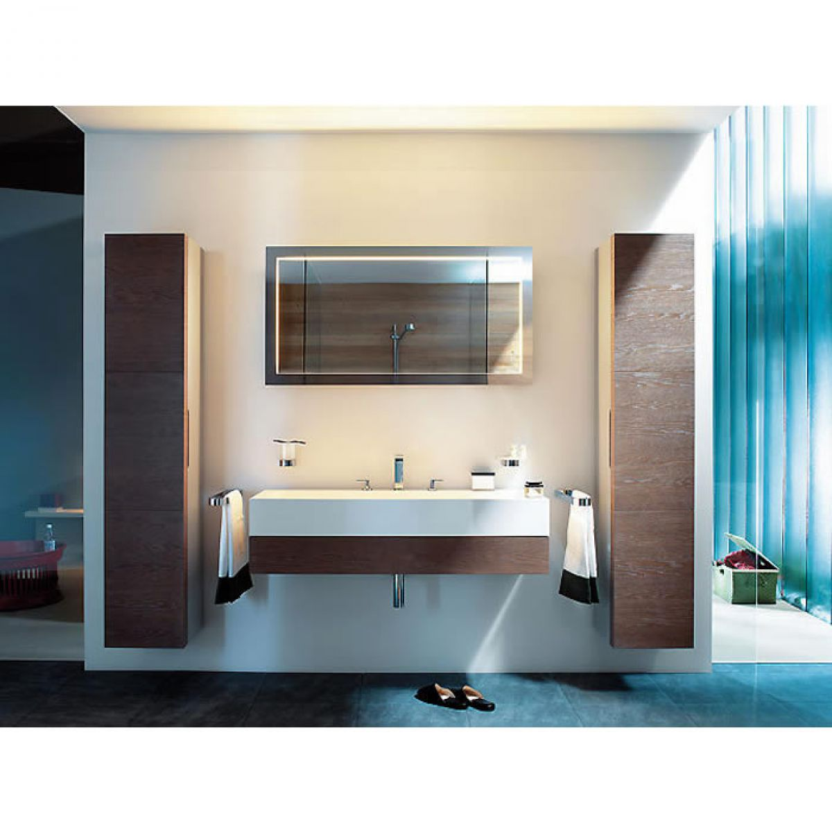 keuco edition 300 light mirror uk bathrooms. Black Bedroom Furniture Sets. Home Design Ideas