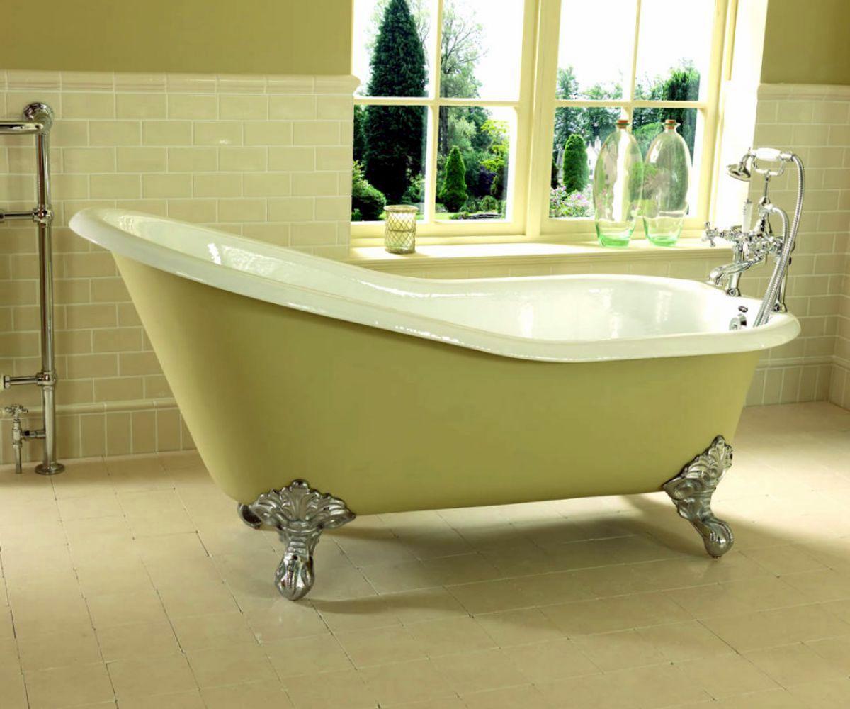 Imperial Ritz Cast Iron Slipper Bath