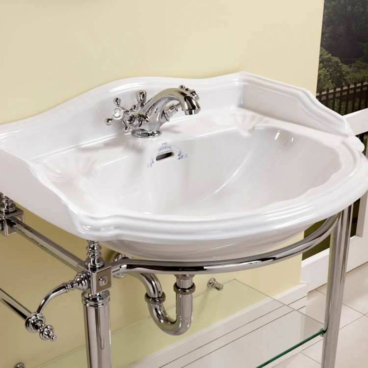 Bathroom Design Oxford imperial heyford basin stand with large oxford basin : uk bathrooms