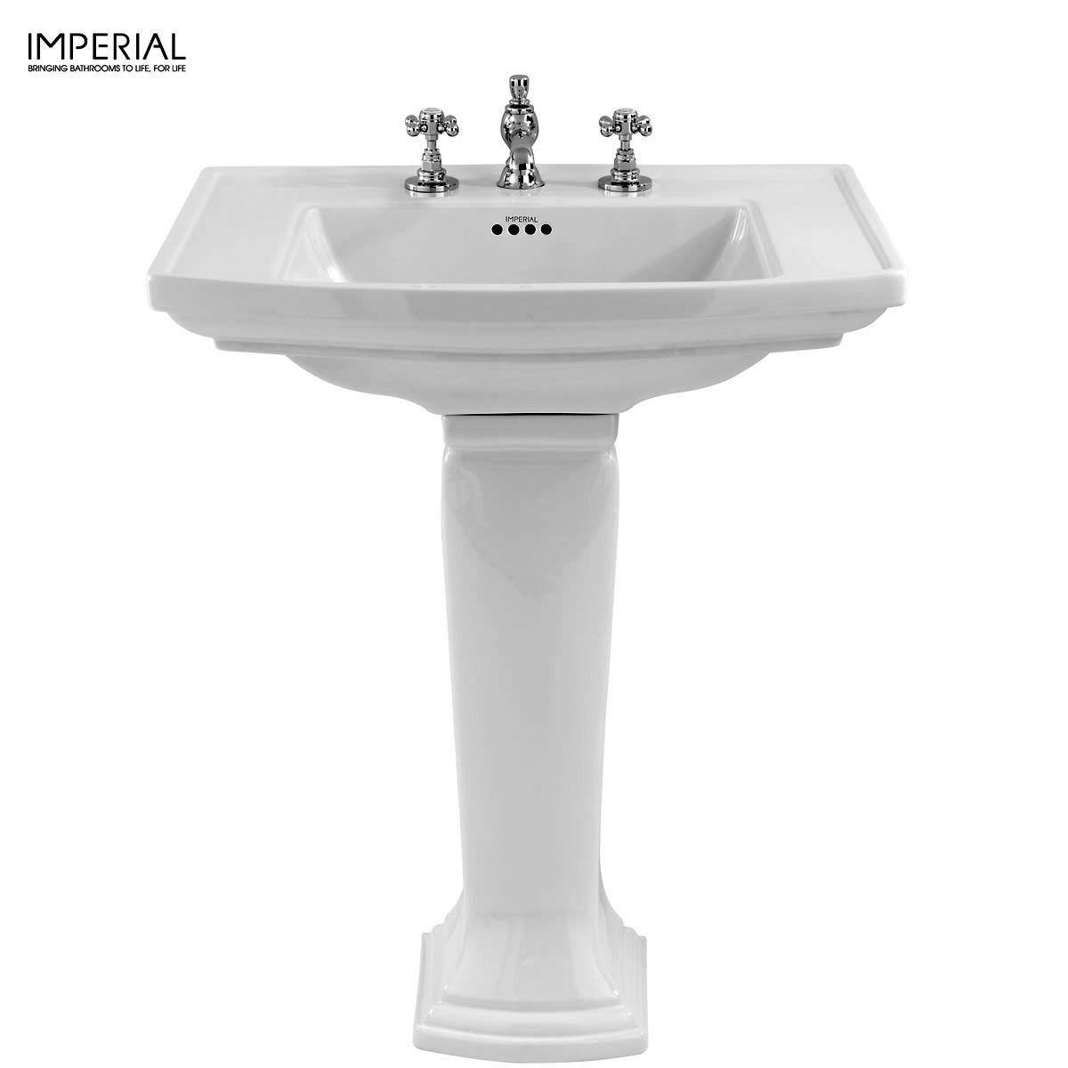 Bathroom Basin imperial radcliffe bathroom basin : uk bathrooms