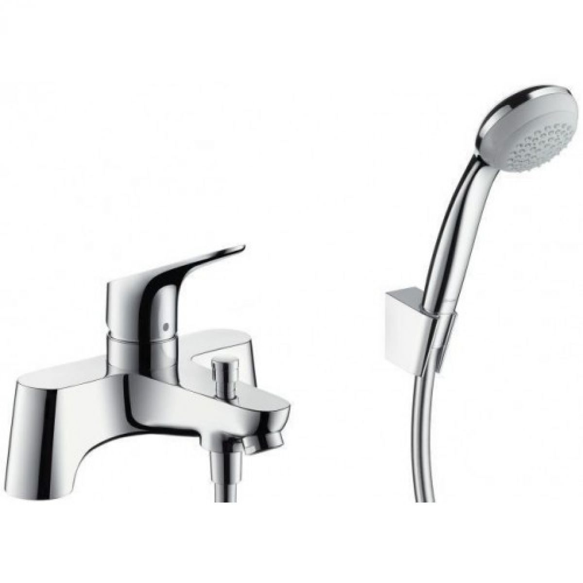 hansgrohe focus bath shower mixer tap uk bathrooms. Black Bedroom Furniture Sets. Home Design Ideas