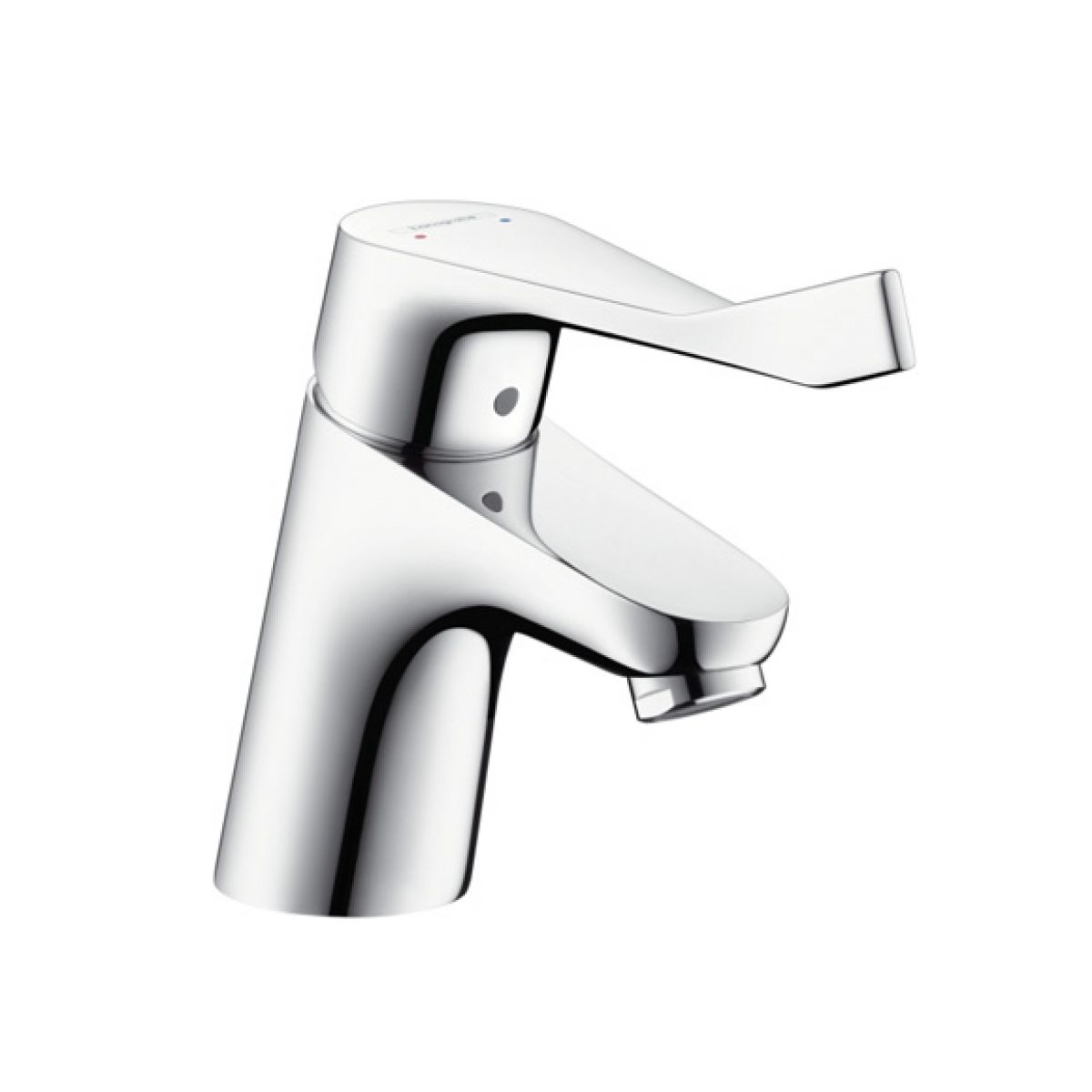 hansgrohe focus 70 single lever comfortzone basin mixer uk bathrooms. Black Bedroom Furniture Sets. Home Design Ideas