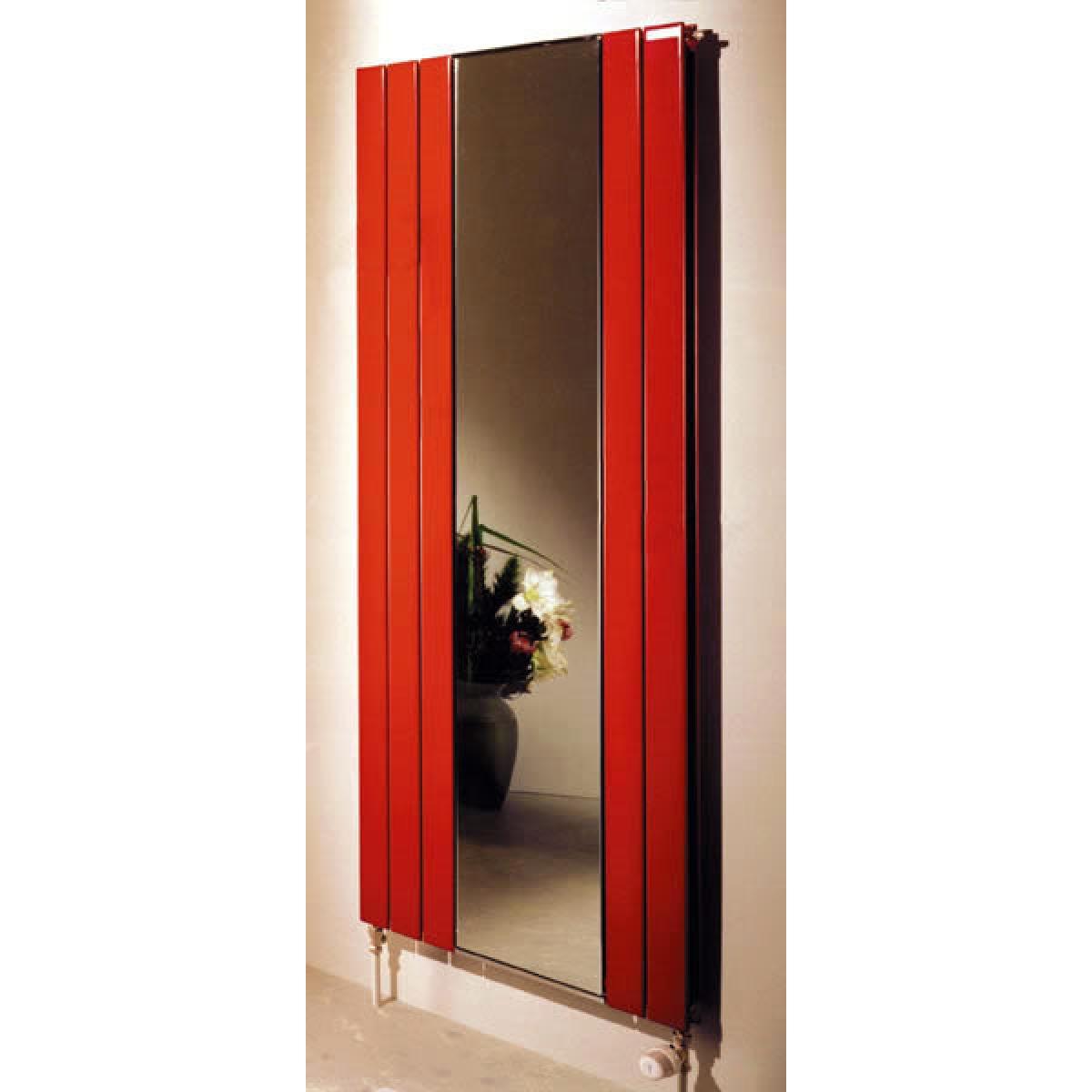 Zehnder roda radiator with mirror uk bathrooms for Mirror radiator