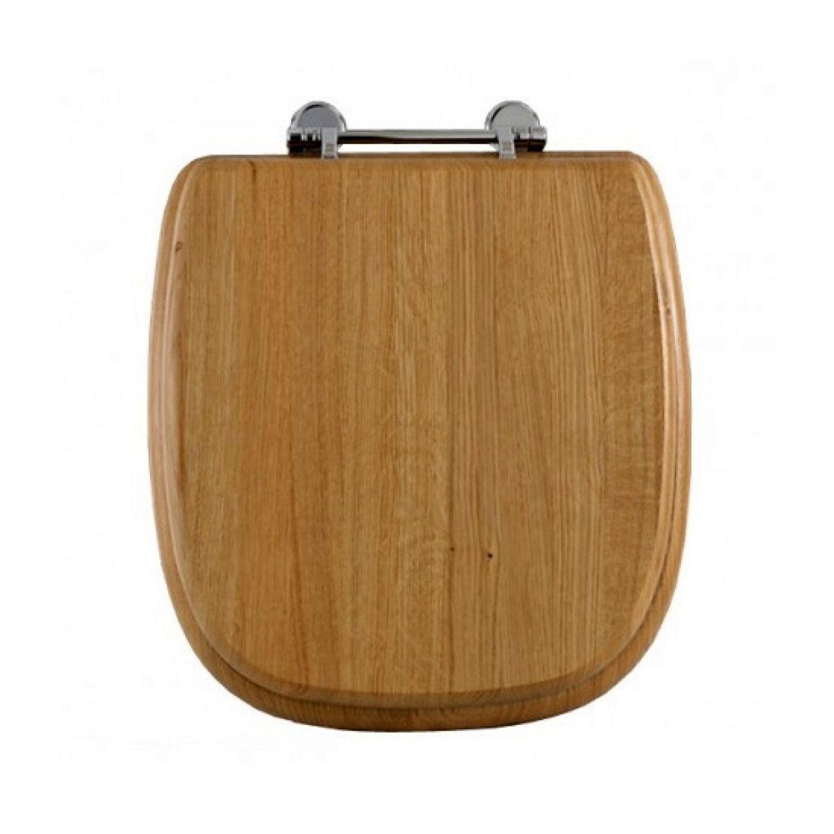 imperial radcliffe solid wood toilet seat uk bathrooms. Black Bedroom Furniture Sets. Home Design Ideas