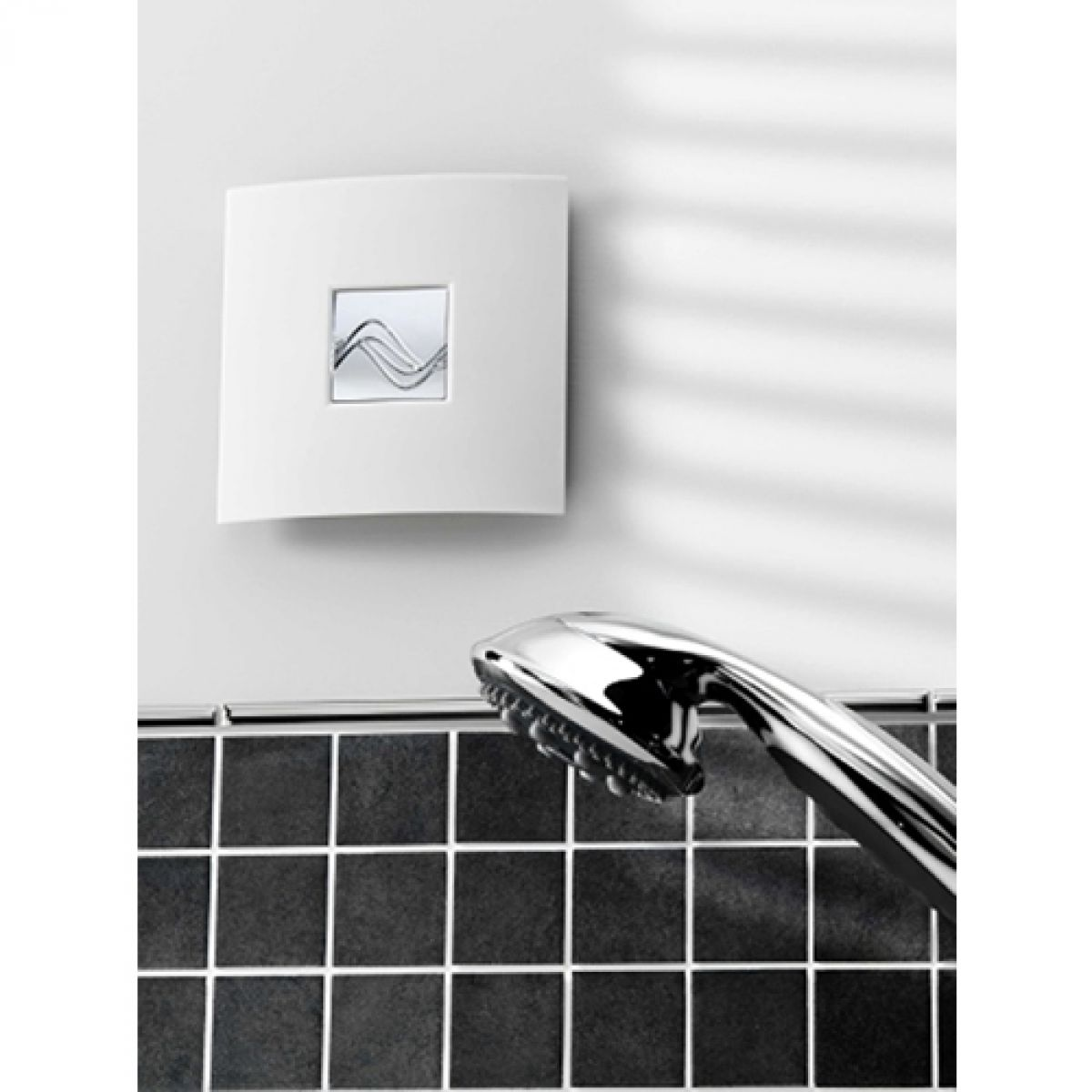 Bathroom Extractor Fan zehnder silent wall fan (ip24) : uk bathrooms
