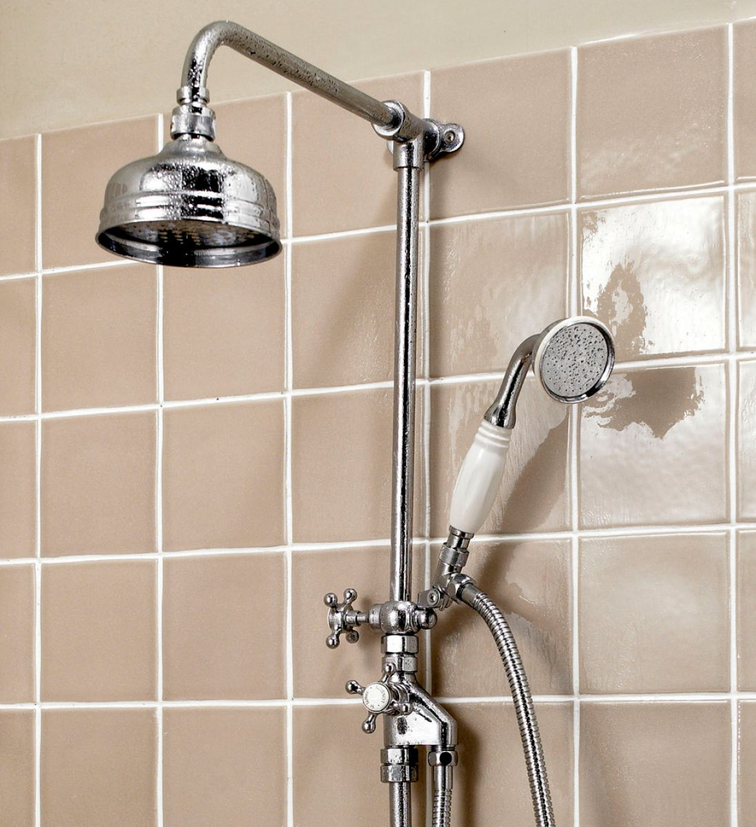 Exceptionnel Imperial Victorian Exposed Shower Valve With 5 Inch Flowmaster Shower Head  ...
