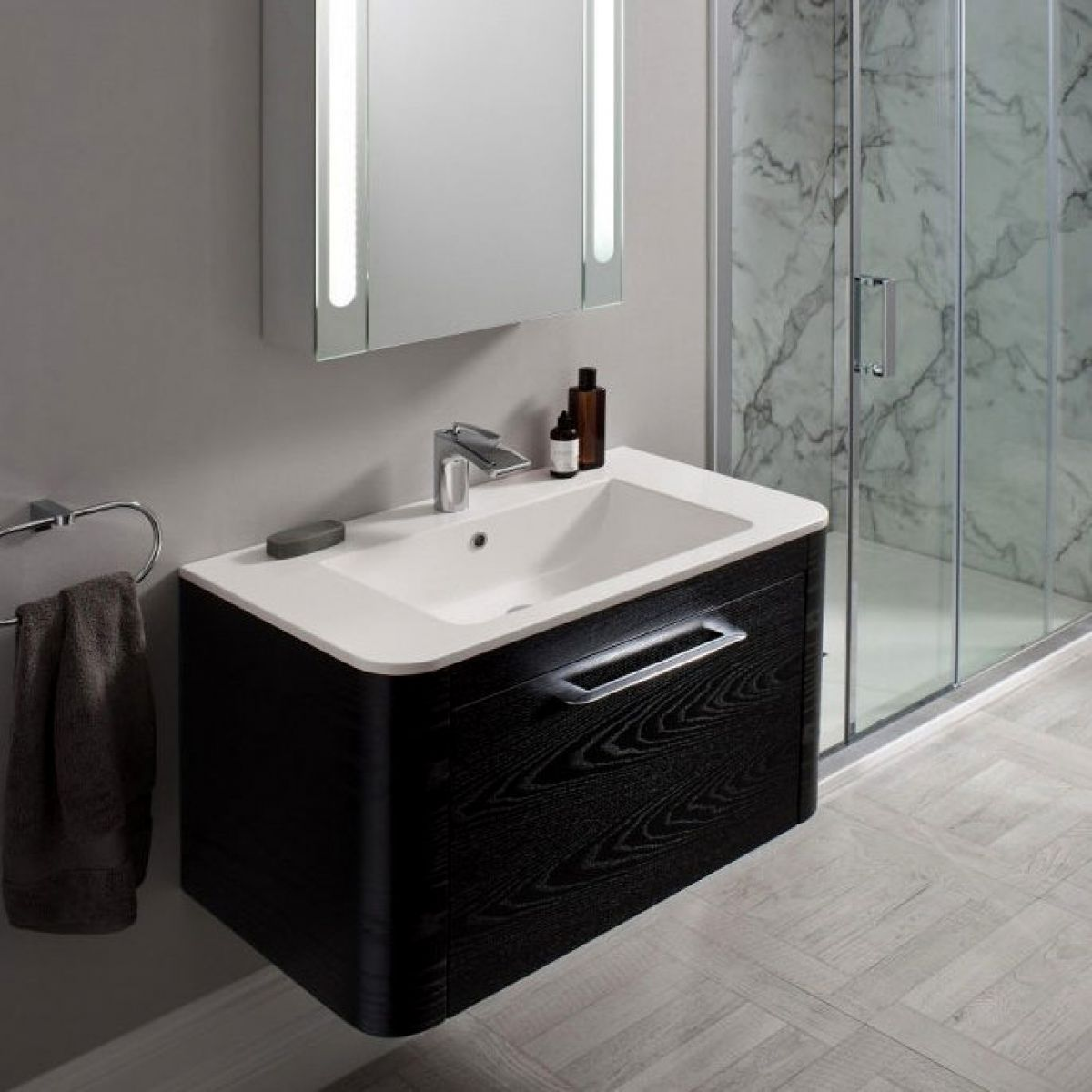 Bauhaus Celeste Wall Hung Unit With Basin Uk Bathrooms