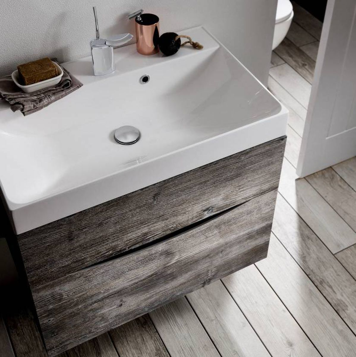 Bathroom sink and vanity unit - Burlington 100 Curved Vanity Unit Uk Bathrooms