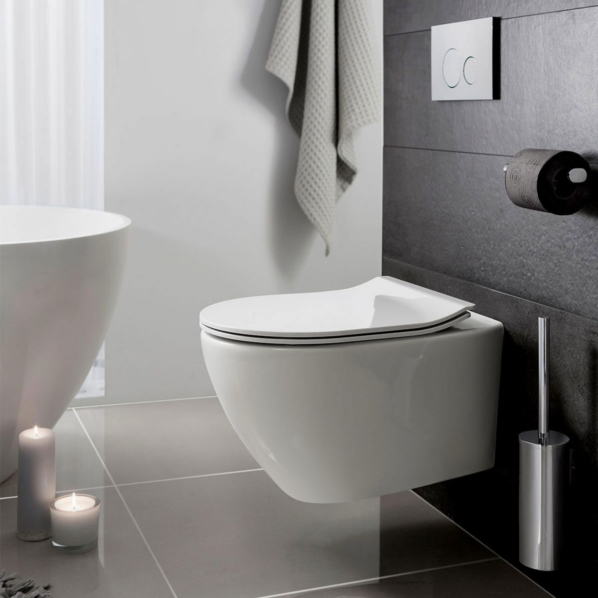 Bauhaus Svelte Wall Hung Toilet Uk Bathrooms
