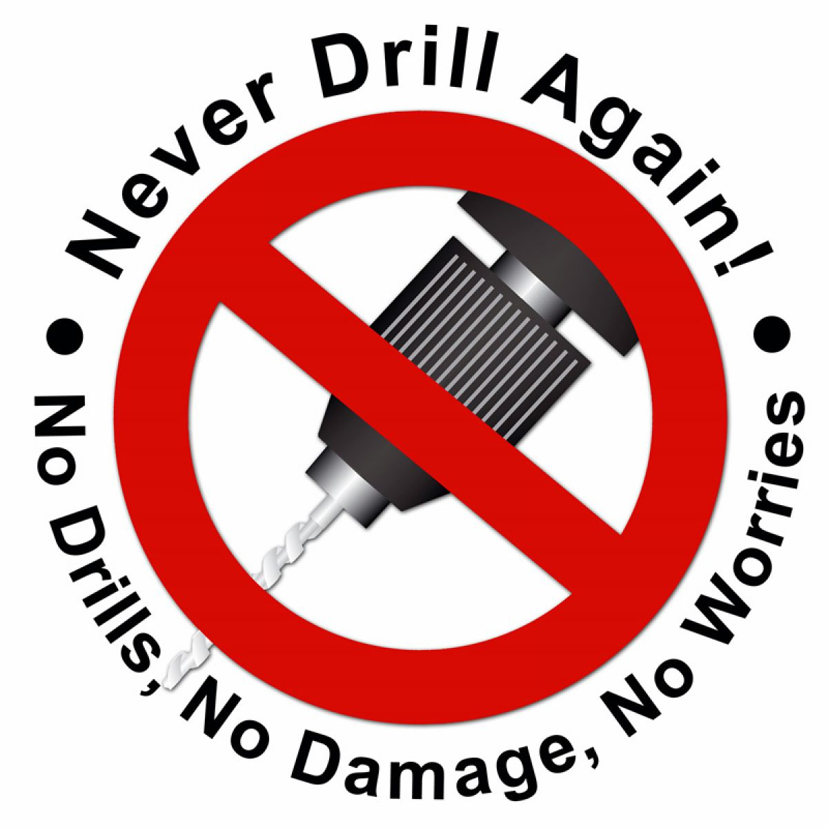 Never drill again bathroom accessories - Never Drill Again Hoom Toilet Roll Holder Uk Bathrooms