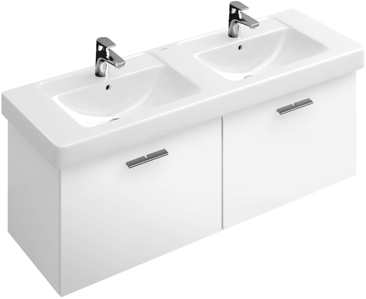 villeroy and boch subway double vanity washbasin unit uk. Black Bedroom Furniture Sets. Home Design Ideas