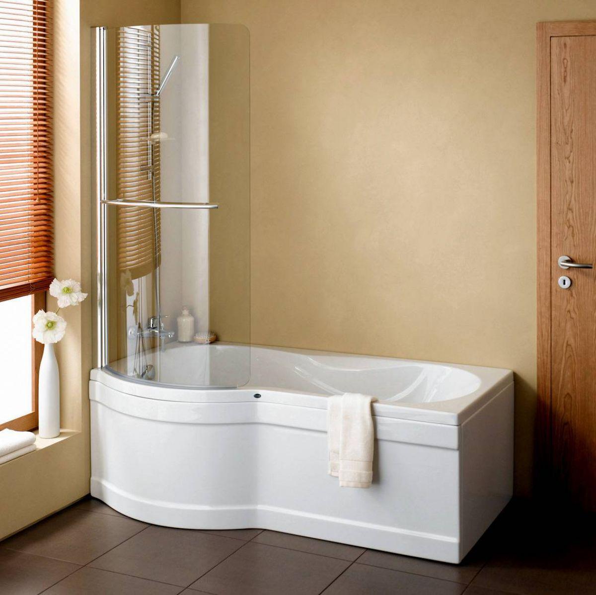 Vitra Delphi Luxury Shower Bath 1700mm : UK Bathrooms