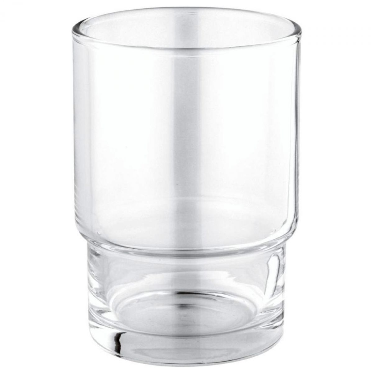 ... Grohe Essentials Glass Tumbler With Holder ...