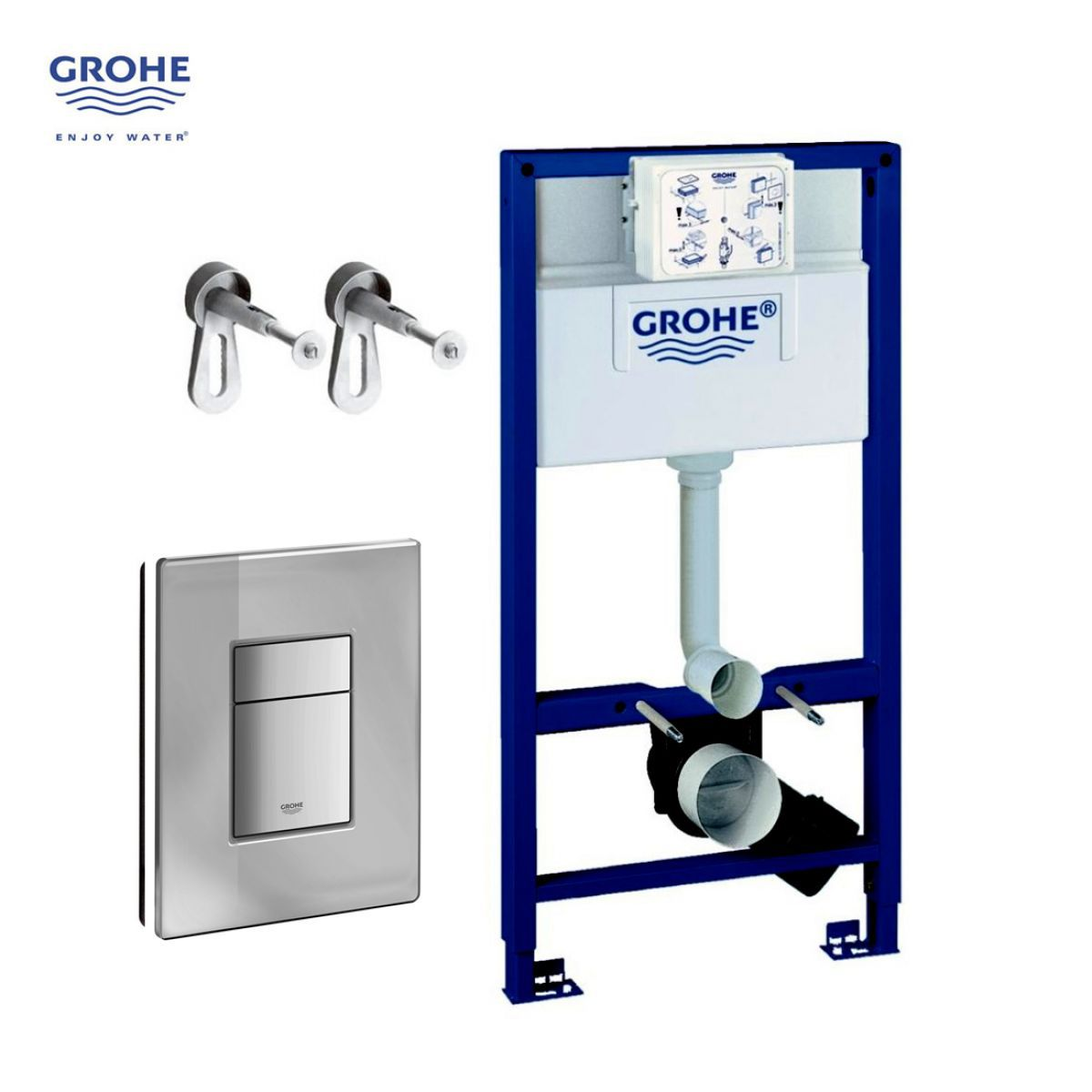 Grohe Rapid Sl 3 In 1 Wc Frame Pack Uk Bathrooms
