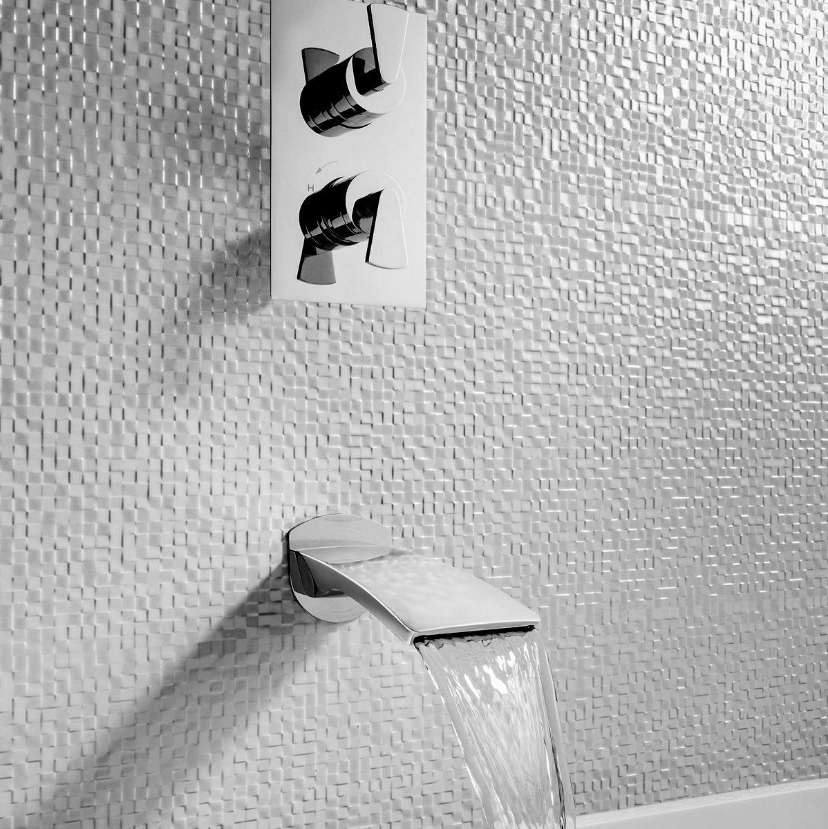 Crosswater Essence Wall Mounted Bath Spout Uk Bathrooms