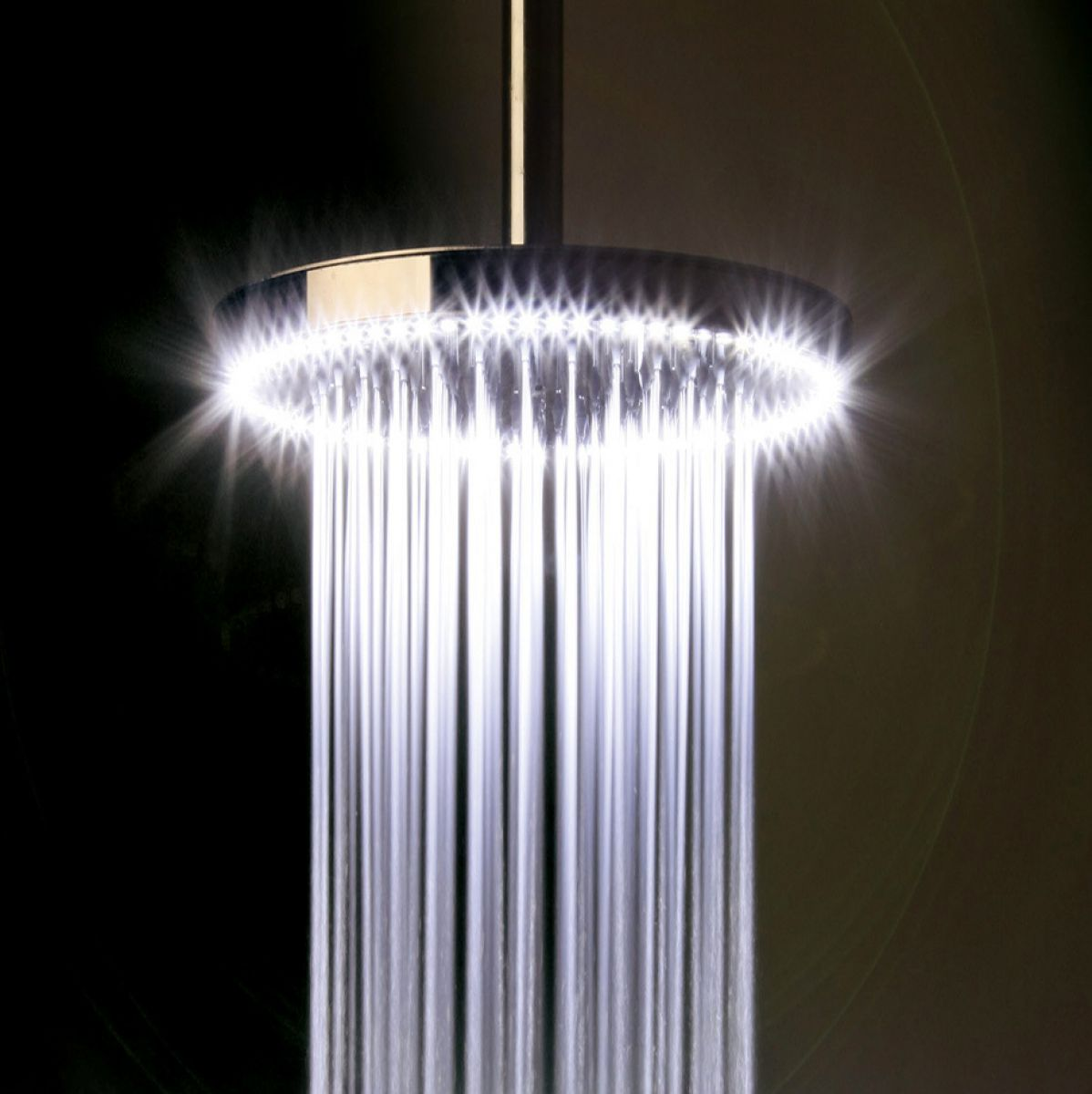 Crosswater Rio Shower Head With Led Lighting 240mm