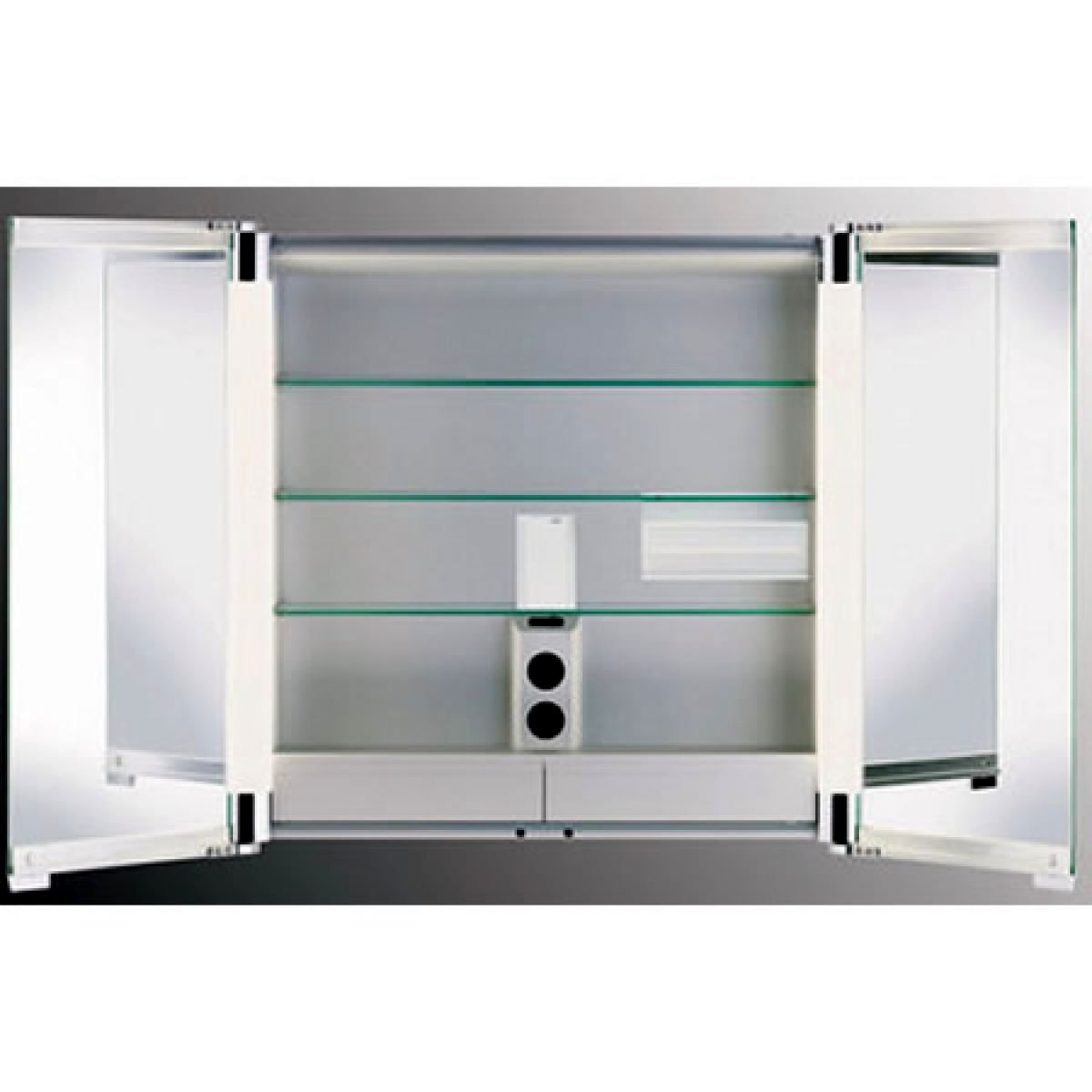 Keuco royal t2 mirror cabinet uk bathrooms - Bathroom cabinets keuco ...