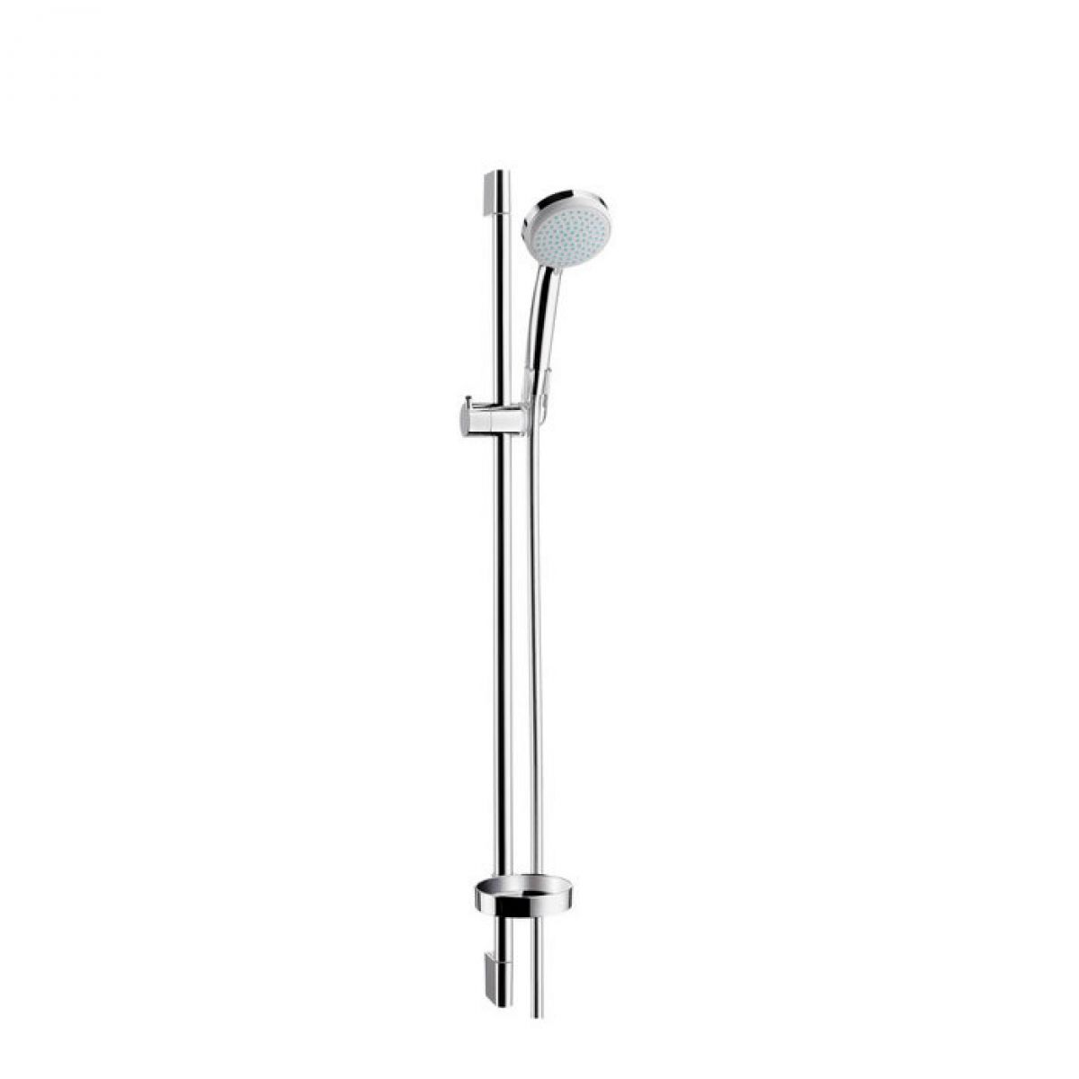 hansgrohe croma 100 vario unica 39 c shower set uk bathrooms. Black Bedroom Furniture Sets. Home Design Ideas