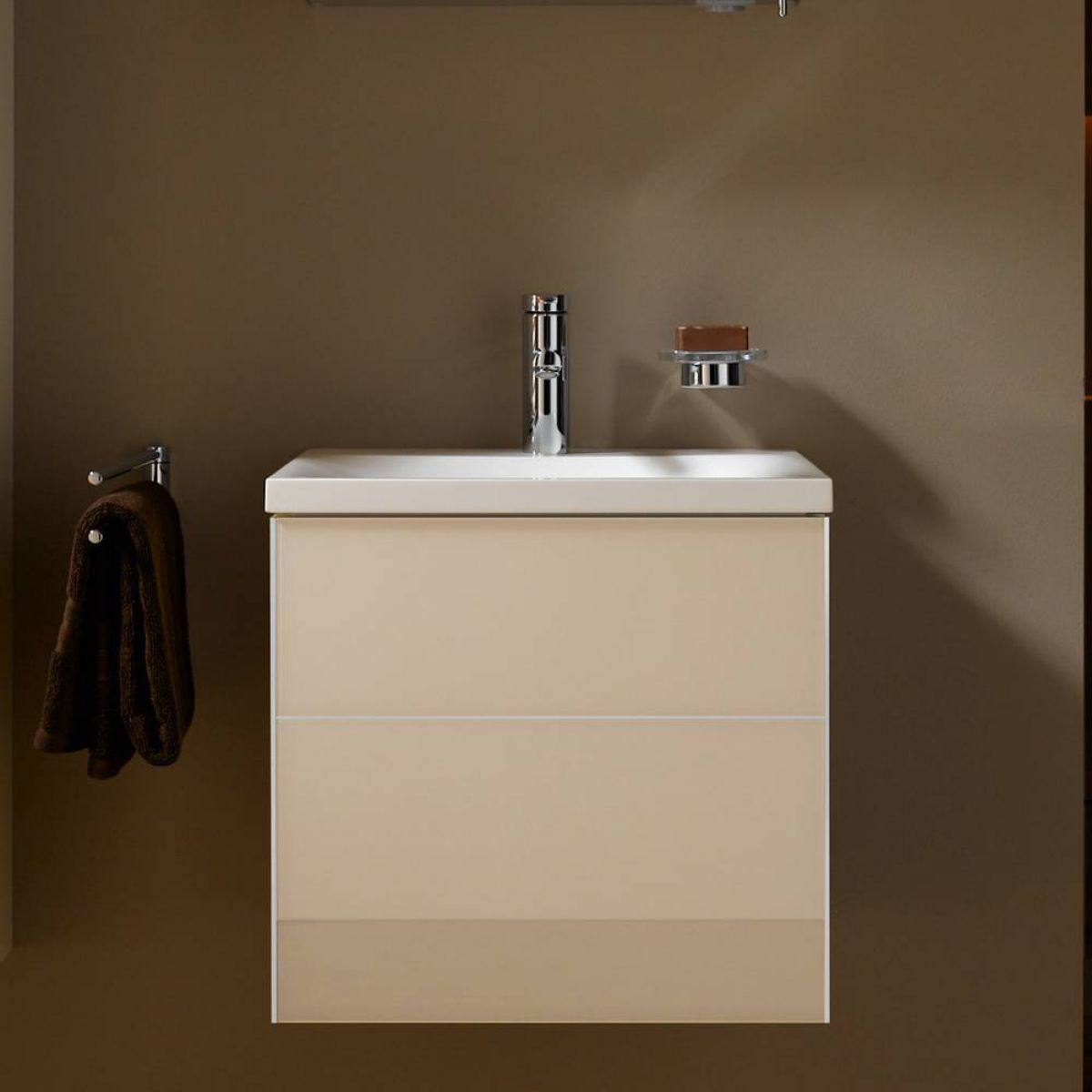 keuco royal reflex cloakroom vanity unit with basin uk bathrooms. Black Bedroom Furniture Sets. Home Design Ideas
