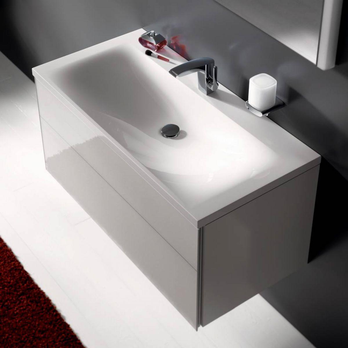 keuco royal reflex washbasin vanity unit with basin uk bathrooms. Black Bedroom Furniture Sets. Home Design Ideas