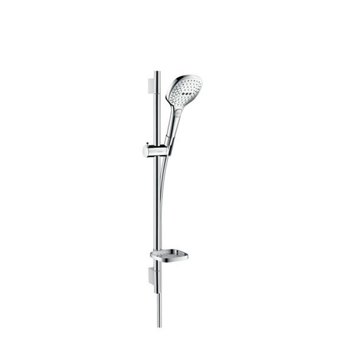 hansgrohe raindance select e unica 39 s puro shower set uk. Black Bedroom Furniture Sets. Home Design Ideas