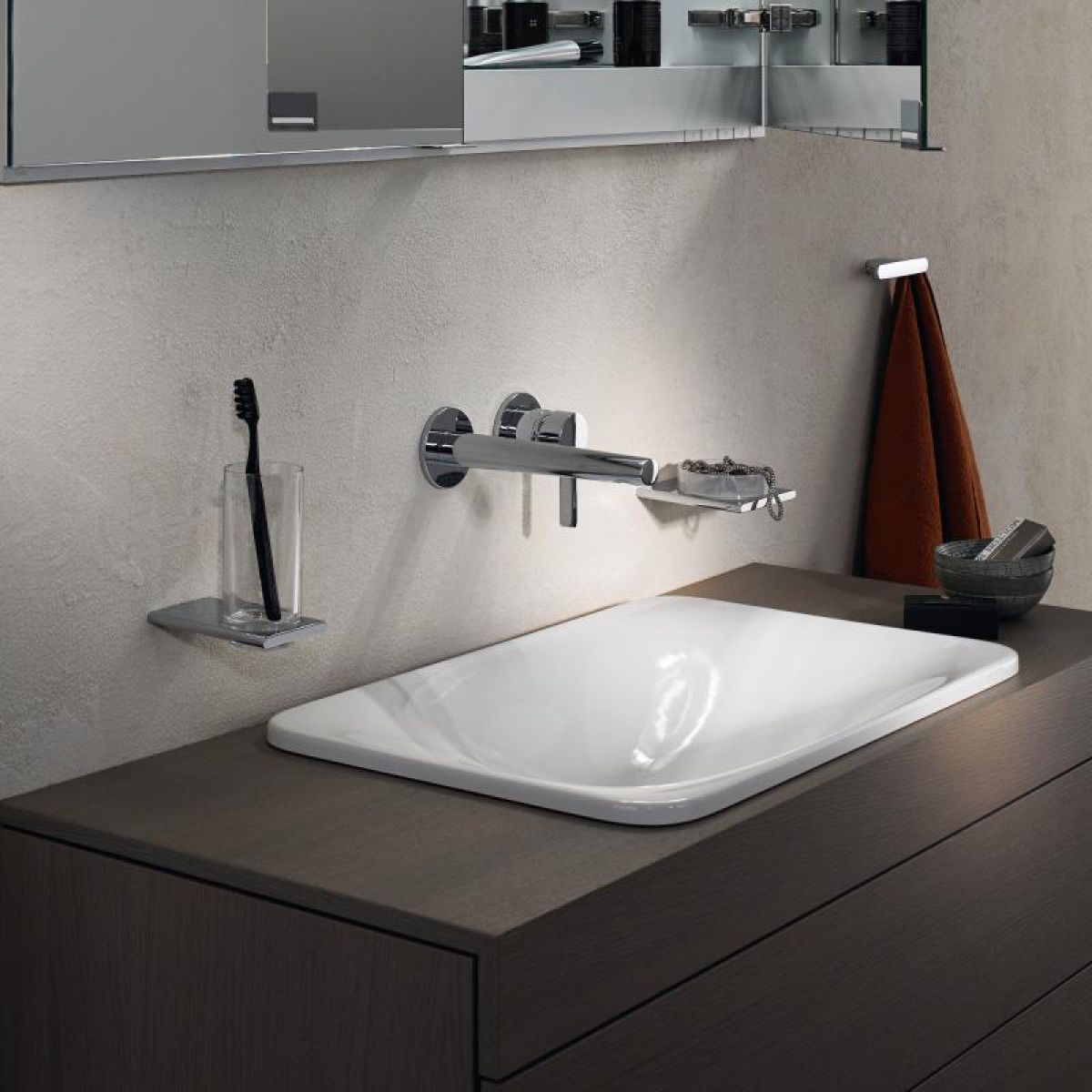 keuco edition 400 concealed single lever basin mixer uk bathrooms. Black Bedroom Furniture Sets. Home Design Ideas
