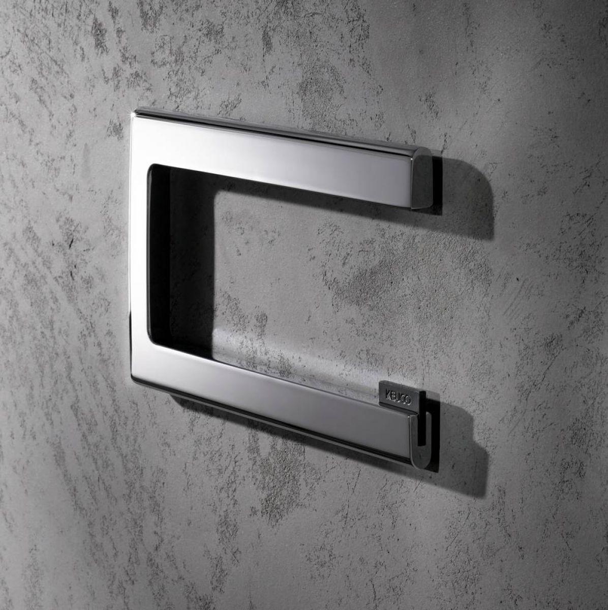 keuco edition 400 toilet roll holder uk bathrooms. Black Bedroom Furniture Sets. Home Design Ideas