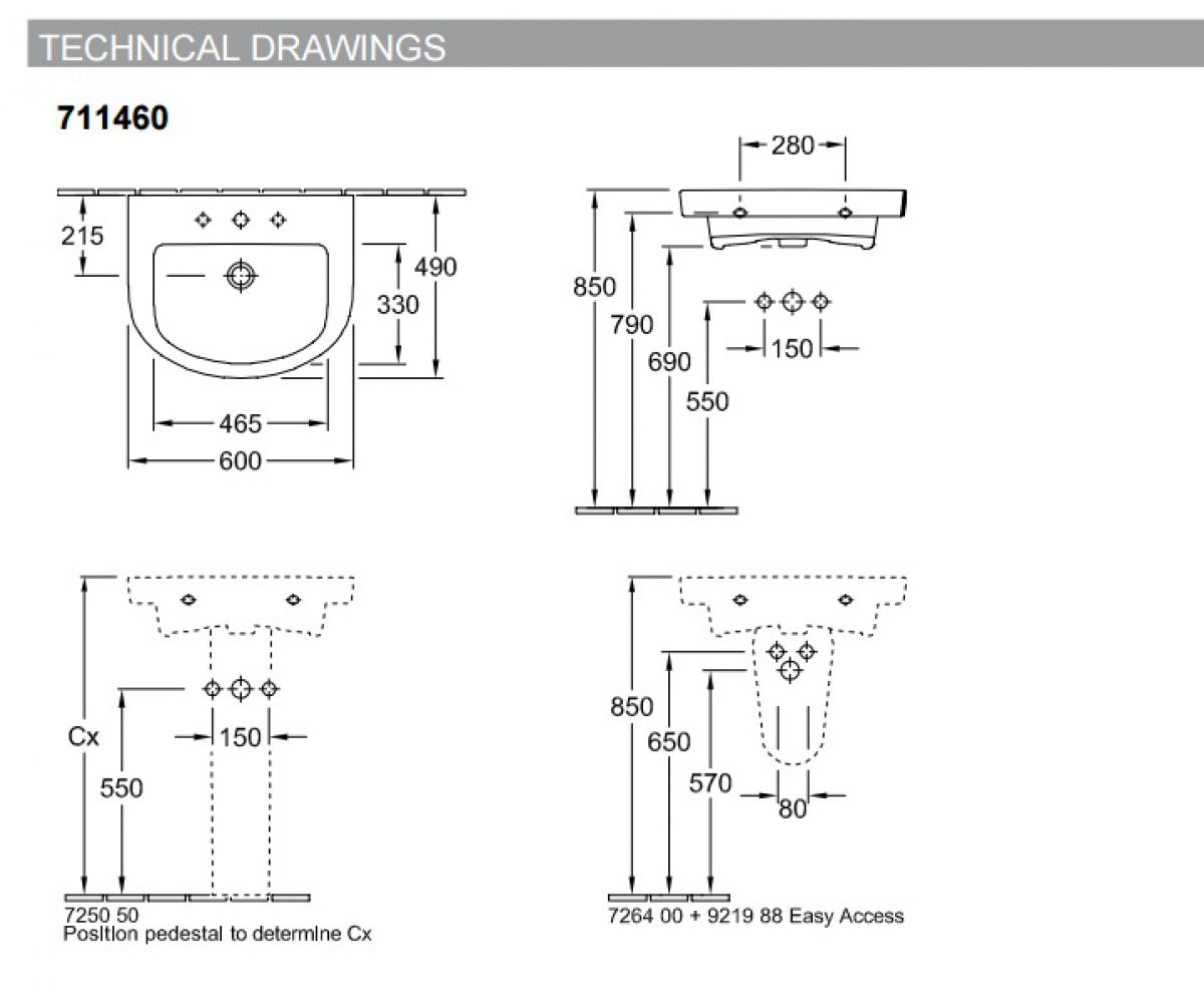 v b subway 2 0 curved washbasin uk bathrooms. Black Bedroom Furniture Sets. Home Design Ideas