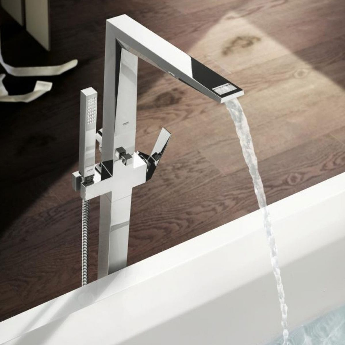 Grohe Allure Brilliant 4-hole Bath Shower Set : UK Bathrooms