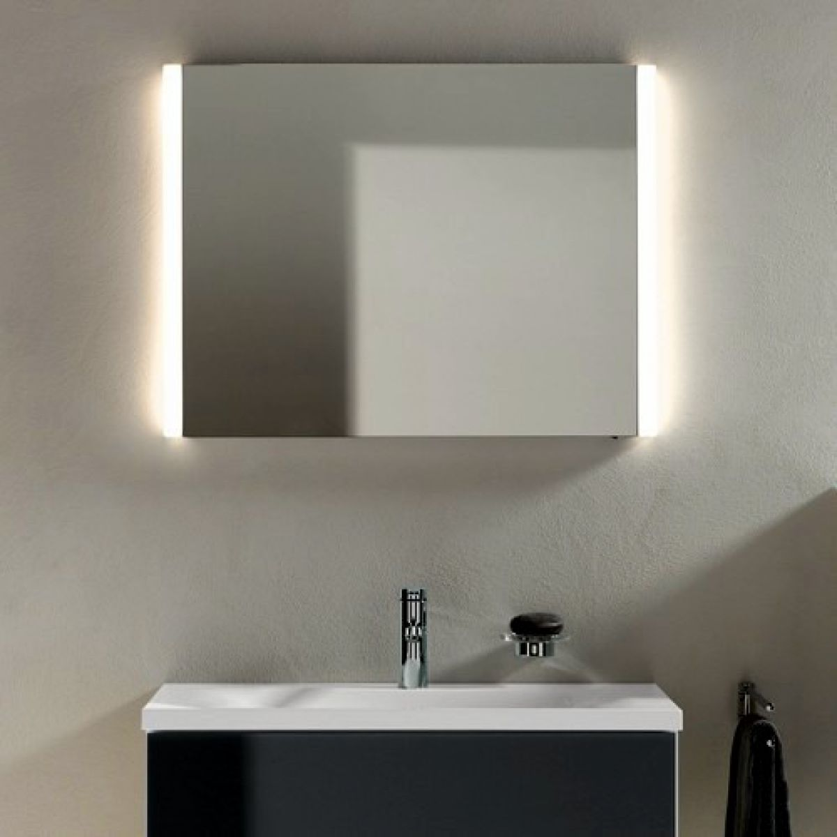 bathroom mirror backlit keuco elegance illuminated bathroom mirror uk bathrooms 11003