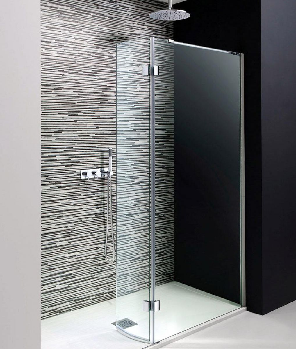 Simpsons Design Walk In Easy Access Shower With Hinged Panel