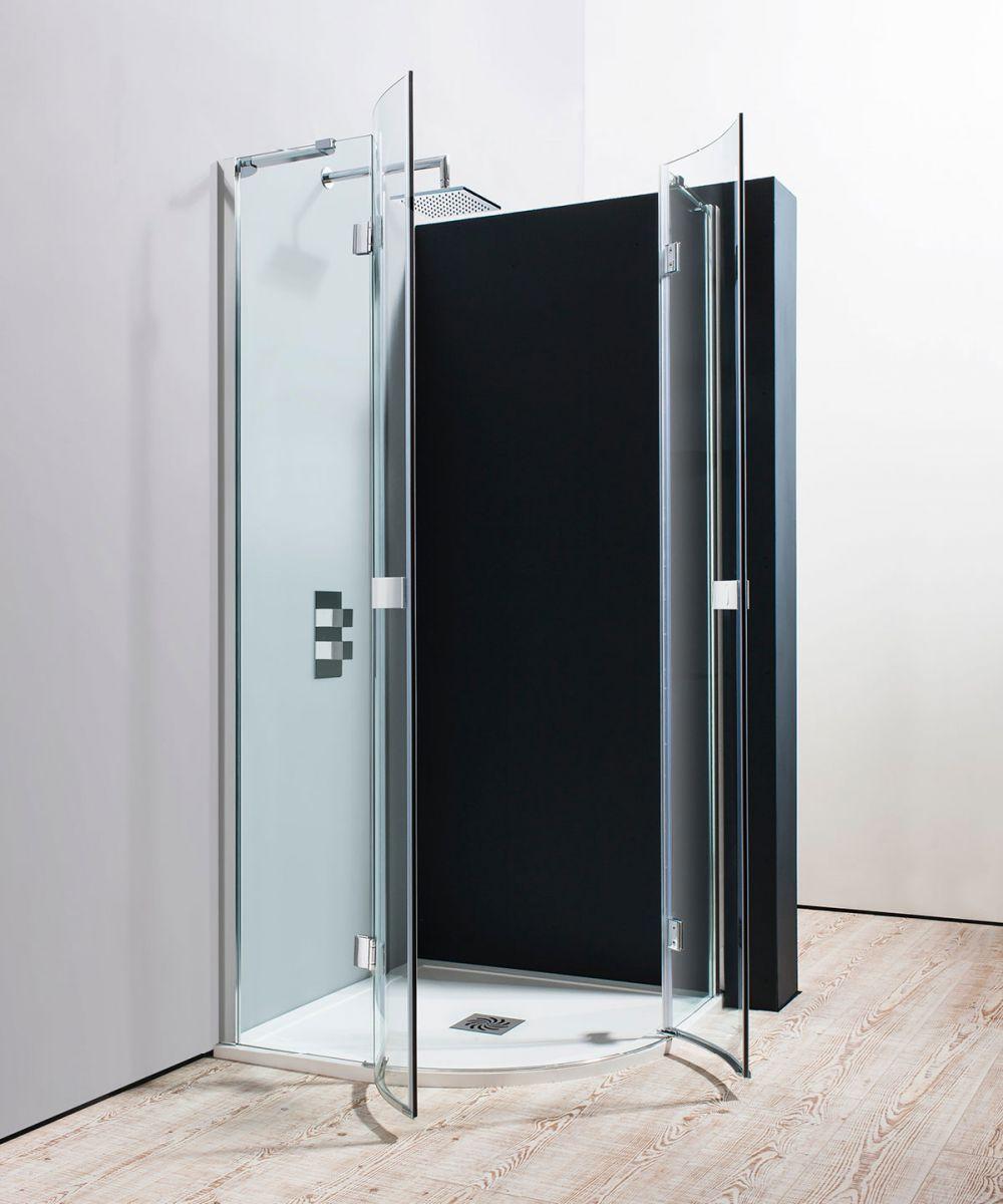 Simpsons Design Quadrant Double Hinged Shower Door Uk