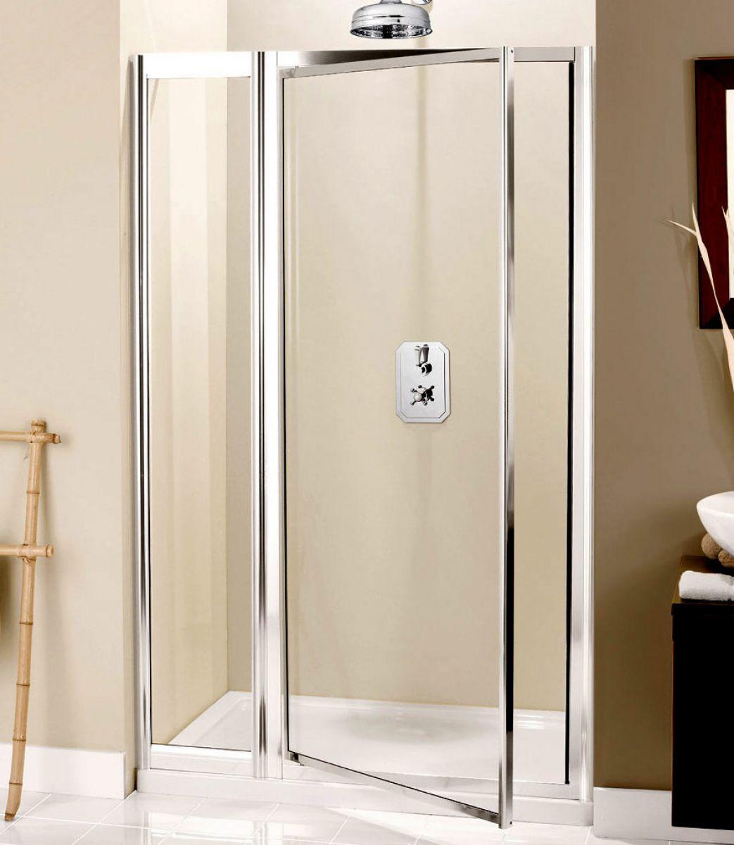 Simpsons supreme pivot door with inline shower uk bathrooms for 1200 pivot shower door