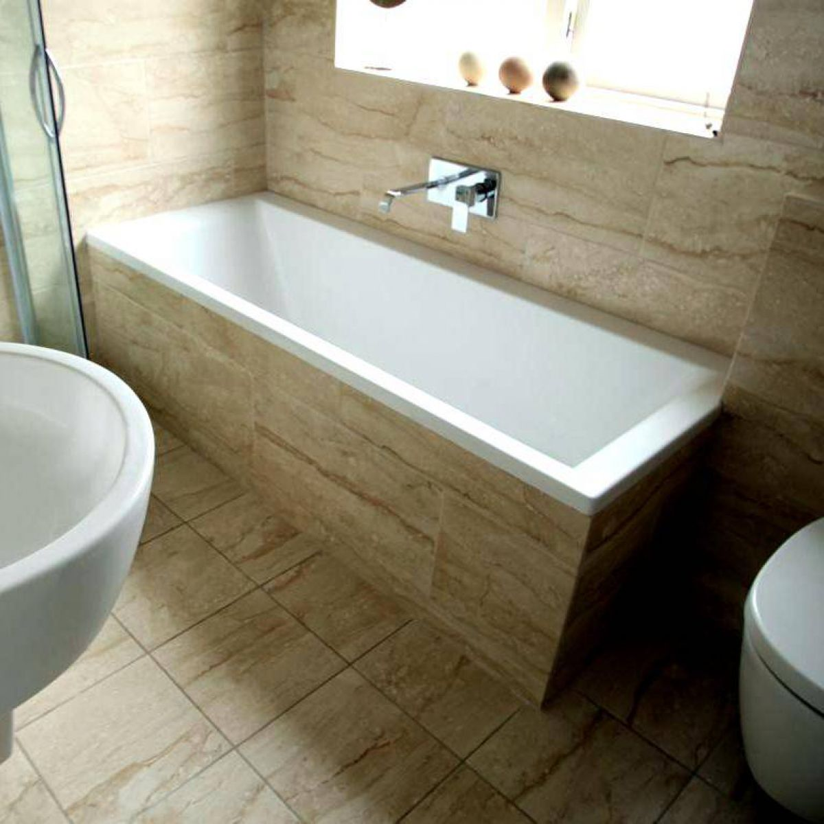 Simpsons Pre-formed Bath Panel : UK Bathrooms