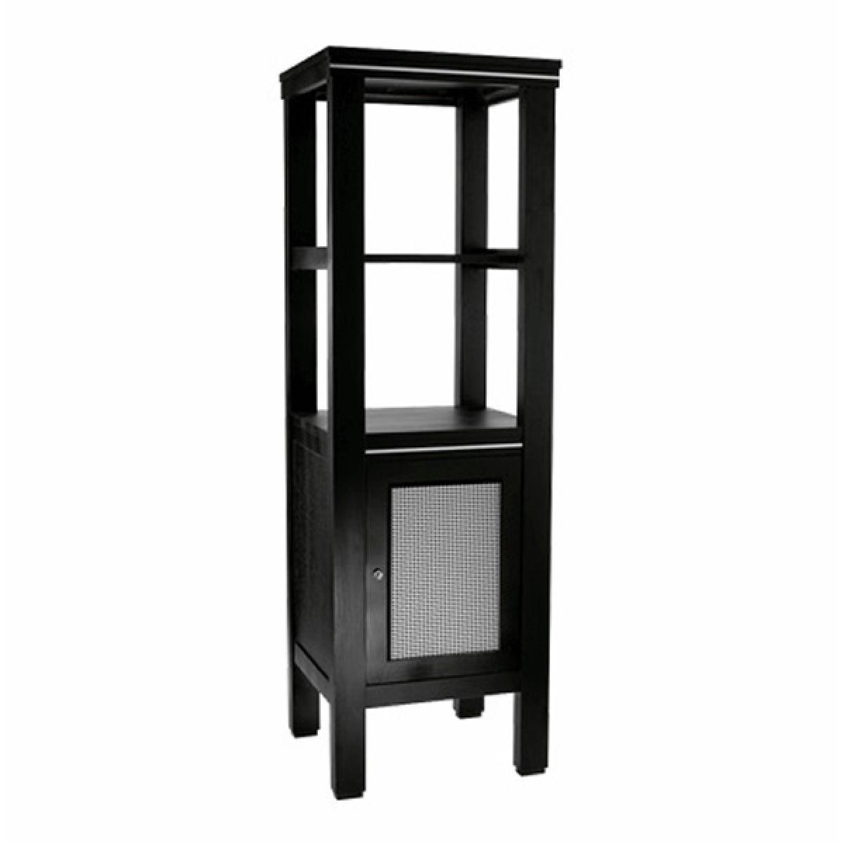 imperial astoria deco cuda metal weave tall storage unit. Black Bedroom Furniture Sets. Home Design Ideas
