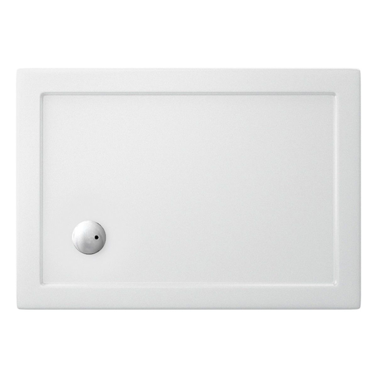 Simpsons Rectangular 35mm Acrylic Shower Tray With Corner