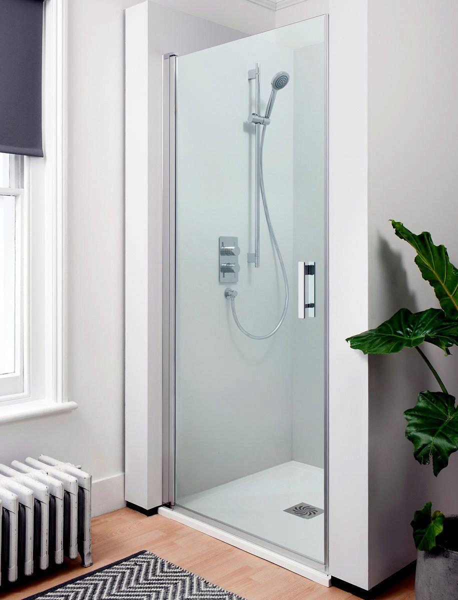 Simpsons Click Hinged Shower Door : UK Bathrooms