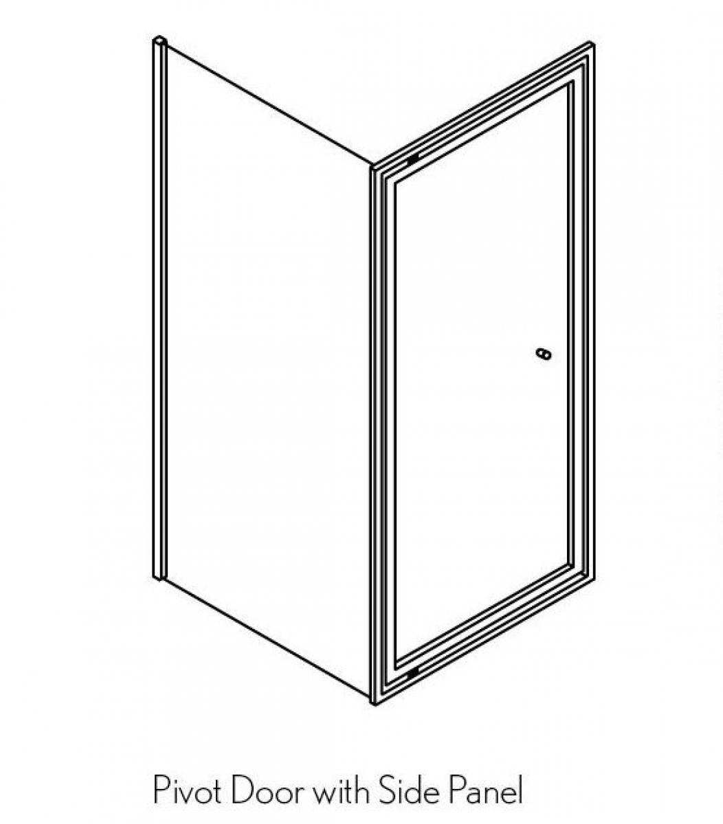Simpsons Edge Infold Shower Door Uk Bathrooms