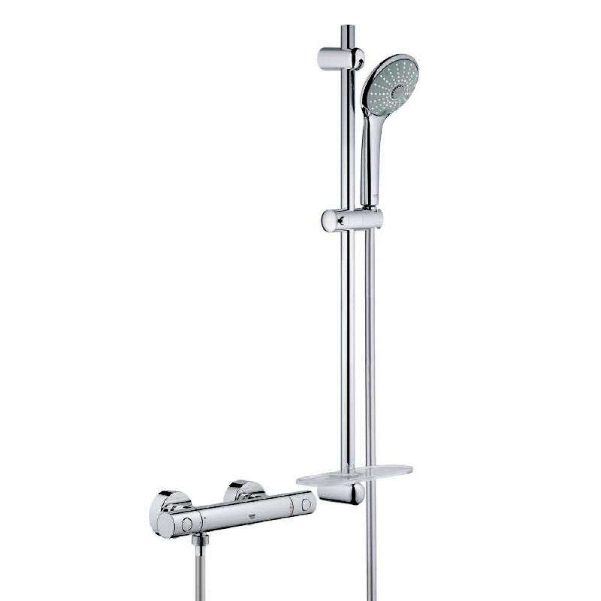 Turbo Grohtherm 1000 Cosmopolitan M Thermostatic shower mixer : UK Bathrooms GL85
