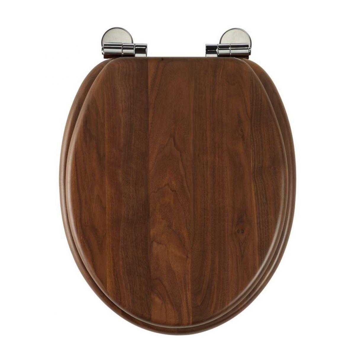 dark brown toilet seat.  Roper Rhodes Traditional Soft Close Toilet Seat UK Bathrooms