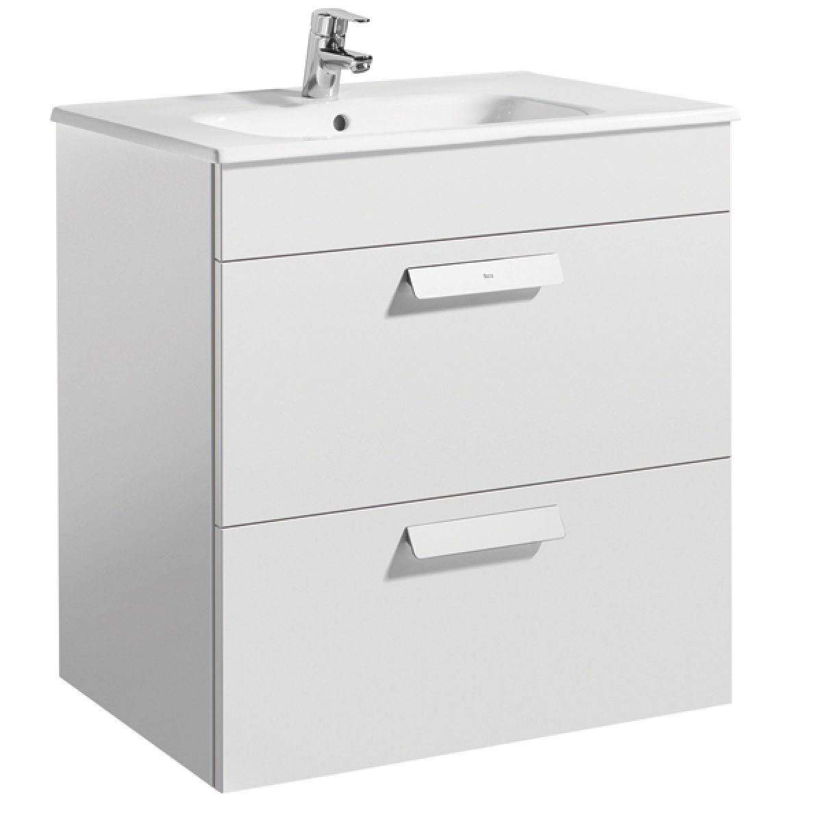 Roca Debba Drawer Unit With Basin Uk Bathrooms