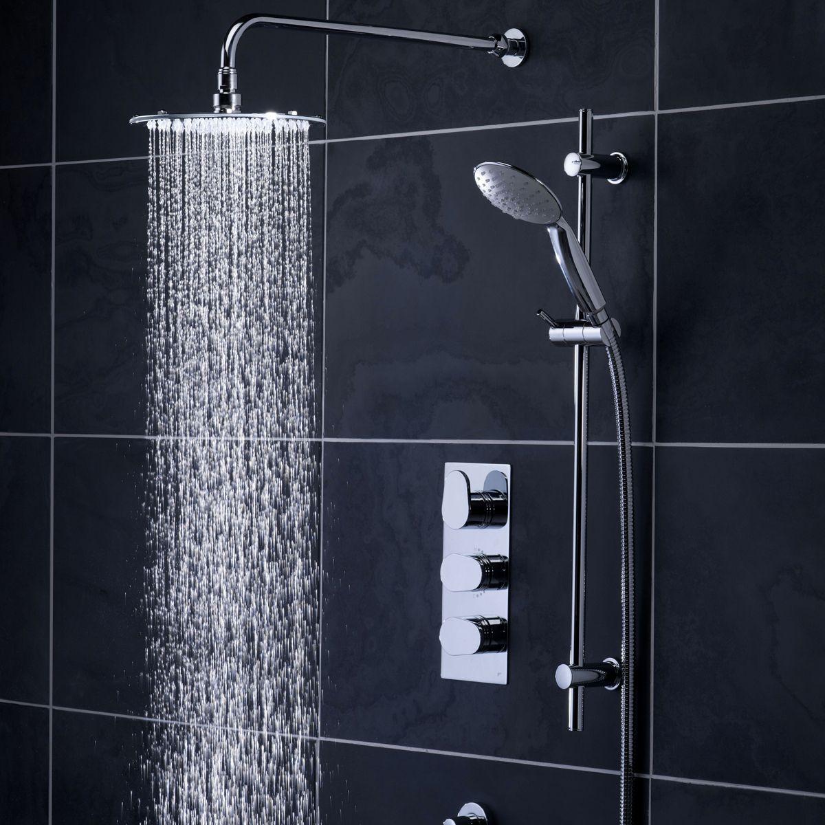 Concealed Shower Room Steam Room Thermostatic Valve: Roper Rhodes Stream Concealed Thermostatic Shower Valve