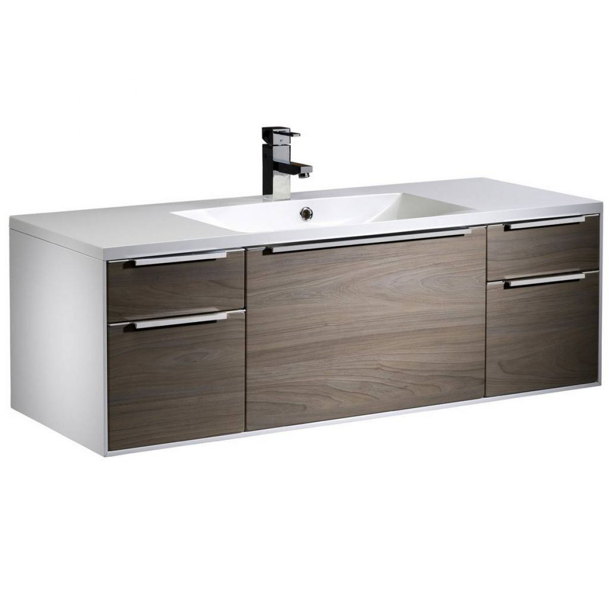 Roper Rhodes Vista 1200mm Wall Mounted Unit and Iscocast Basin : UK ...