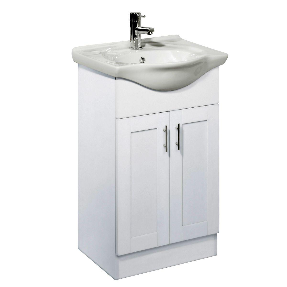 Roper rhodes new england 500mm freestanding vanity unit uk bathrooms for Free standing bathroom vanity units