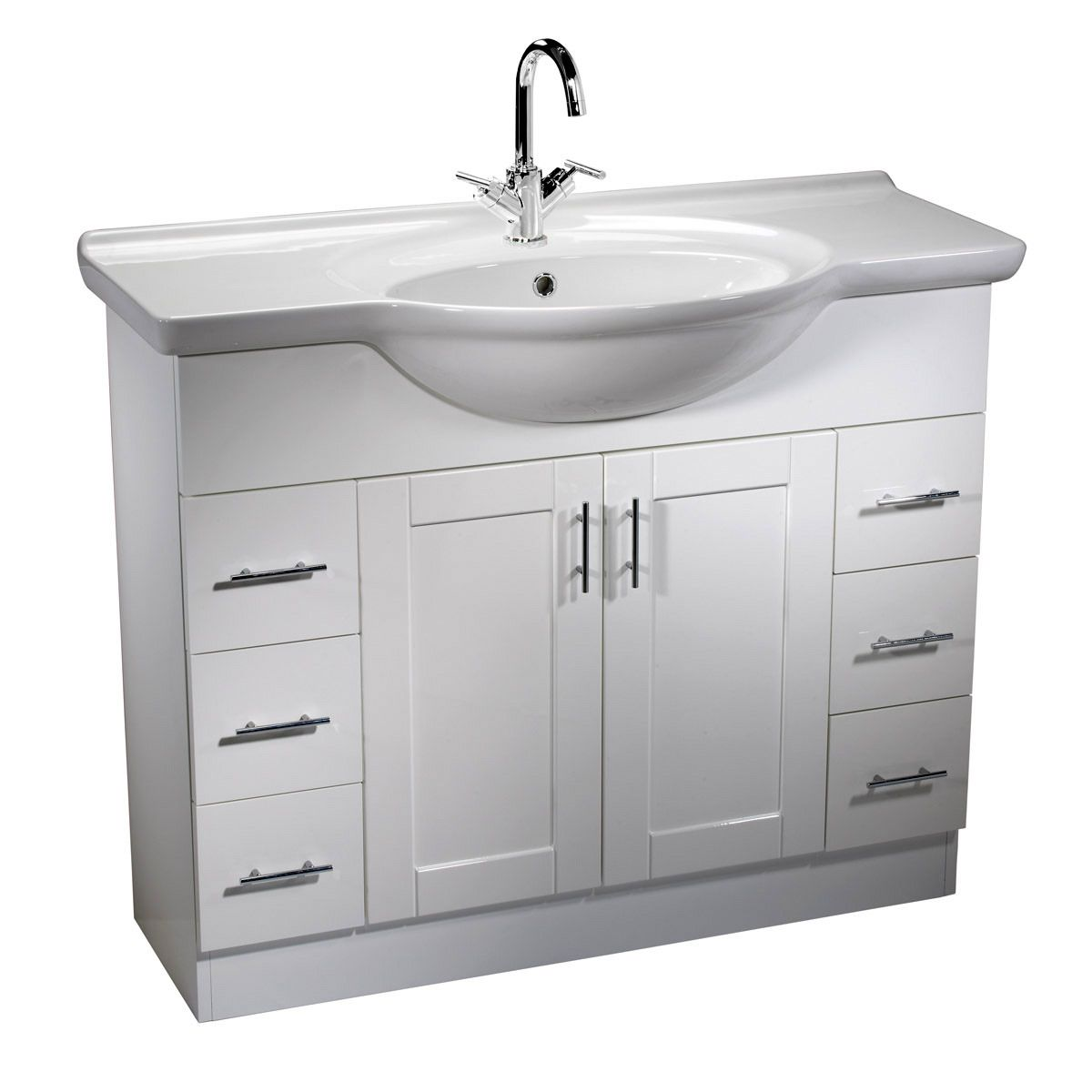 bathroom vanity unit with sink roper new 1000mm freestanding unit with 22529