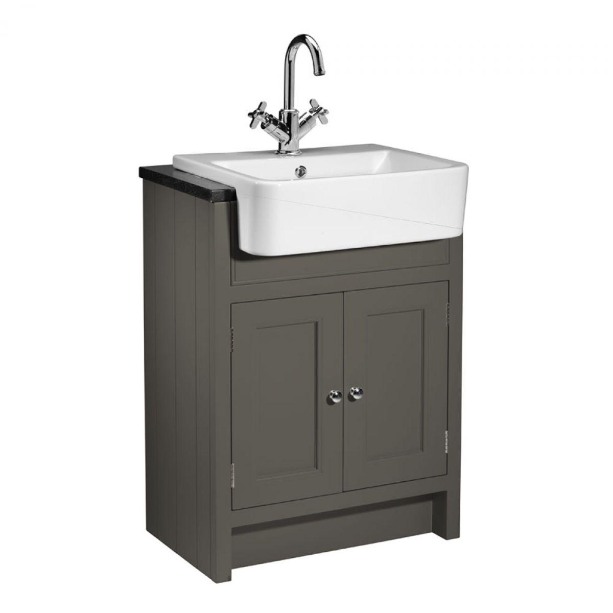 Countertop Unit : ... Rhodes Hampton 600mm Semi-Countertop Unit and Geo Basin : UK Bathrooms