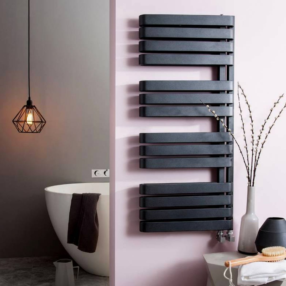 Bauhaus Svelte Towel Warmer