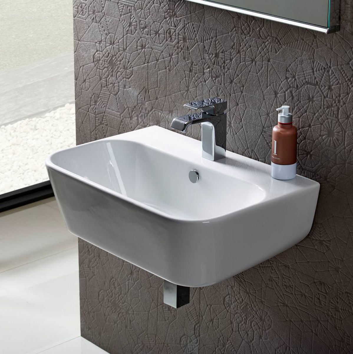 Roper Rhodes Version Wall Mounted Washbasin Uk Bathrooms