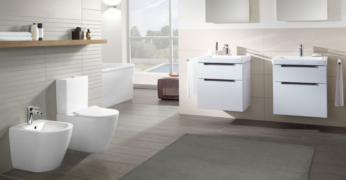 villeroy boch subway 2 0 rimless close coupled toilet uk bathrooms. Black Bedroom Furniture Sets. Home Design Ideas